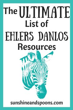 Sunshine and Spoons: The Ultimate List of Ehlers Danlos Resources Ehlers Danlos Syndrome Diagnosis, Ehlers Danlos Hypermobility, Elhers Danlos Syndrome, Chronic Migraines, Chronic Illness, Chronic Pain, Endometriosis, Chiari Malformation, Psoriatic Arthritis