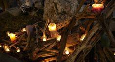 ・KB所属のキャンドルアーティストmaruemu candleさんのキャンドルでの装飾、オリジナルキャンドル制作