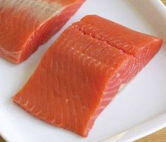 Salmon beleive it or not ir a GREAT Human Foods Safe For Dogs. Maybe not for your dog though, Find Out Why: http://blog.nobrainerdogtrainer.info/human-foods-safe-for-dogs/