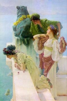 One of my favourite artists - Sir Lawrence Alma Tadema
