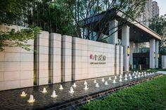 Entrance Signage, Entrance Design, Fence Design, Wall Exterior, Exterior Design, Landscape Walls, Landscape Design, Boundry Wall, Front Wall Design