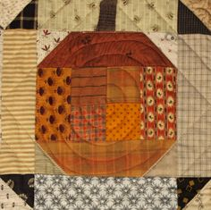 Pumpkins On Parade table runner by Norma Whaley