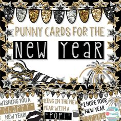 New Year's Cards for Students and Coworkers! Punny Cards for The New Year are perfect to give students after returning from the Holiday break! A perfect way to wish a happy new year to your students and team members! Just print out the cards and attach them to the related item to the card! You can also use the cards by themselves as well. Read more: https://www.teacherspayteachers.com/Product/New-Year-Punny-Cards-for-Students-Coworkers-2248913