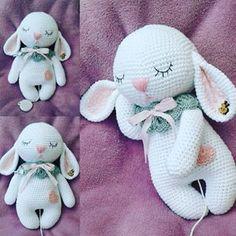 Mesmerizing Crochet an Amigurumi Rabbit Ideas. Lovely Crochet an Amigurumi Rabbit Ideas. Baby Knitting Patterns, Crochet Bunny Pattern, Crochet Patterns Amigurumi, Love Crochet, Crochet Pikachu, Crochet Amigurumi, Amigurumi Doll, Crochet Dolls, Crochet Crafts