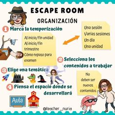 Escaperoom -Orientacion Andujar School Plan, I School, Middle School, Classroom Tools, Flipped Classroom, Teacher Planner, Teacher Binder, Escape Room, Class 8
