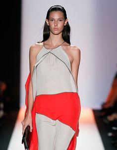 BCBG Max Azria: Swept Back and Sleek  @Mercedes-Benz Fashion Week