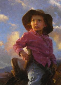 Morgan Weistling (American : 1964) -  High Plains Drifter- © 2003