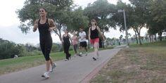 קבוצת ריצה וכושר בפארק הירקון תל אביב