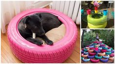16 Awesome Ways To Give Old Tires New Life