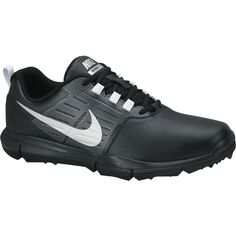 Nike Explorer SL Golf Shoes, Black/Silver