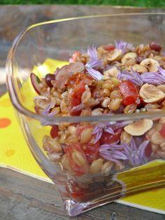 Salade de petit épeautre et haricots azukis