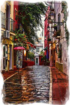 Andalucia, parese una fantasia y mi Meta es Ir y plantar rais.  Mas que una visita al Pais mas Lindo que el mio .  Desfrutar una hermosa cultura y hablar la lengua de mi abuelo