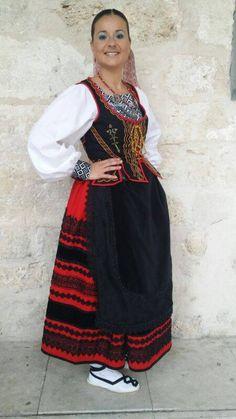 FolkCostume&Embroidery: Costume and embroidery of Segovia,. Castile, Spain