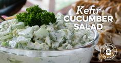 Kefir Cucumber Salad Recipe