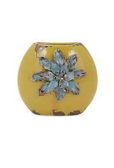 Kimber Short Flower Vase