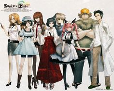 Another great visual novel I have played!  ALL AGES!   I COULDN'T GET THE LAST FRICKING CG DUE TO A BUG. I'M STILL MAD.  I mean it was the TRUE END for Kurisu and Okabe!! TT^TT