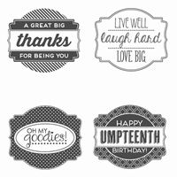 Oh My Goodies Clear Stamp Set by Stampin' Up!