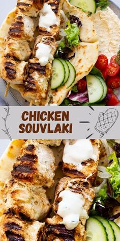 This chicken souvlaki recipe is easy, straightforward and delicious. The beautiful flavour comes from a simple yogurt marinade, enhanced by the smoke of a grill.