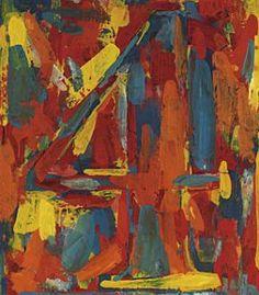 Jasper Johns number