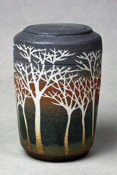 More Mashiko ware - by Saeki Moriyoshi