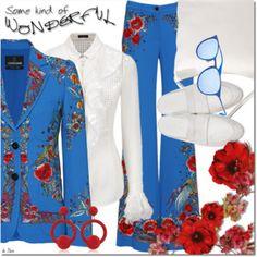 ROBERTO CAVALLI, Blazer & Trousers