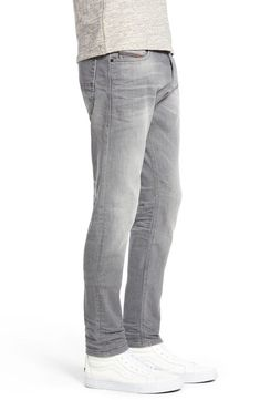 ce096aa4 Diesel jeans mens tepphar slim-carrot fit gray denims jeans 0853t 34 x 32