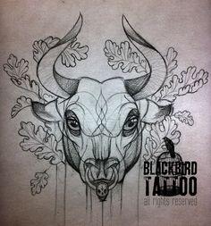 bull tattoo | Tumblr