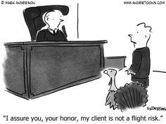 thanksgiving turkey attorney cartoon - Google Search
