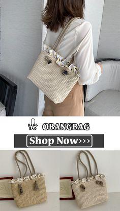 Straw Tote, Shop Now, Dressing, Michael Kors, Shoulder Bag, Tote Bag, Chic, Stylish, Pattern