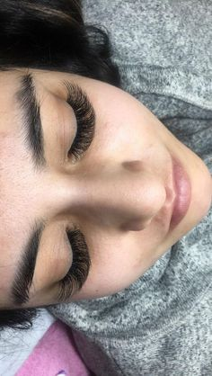 Eye lashes extensions, Lash fill, tint and curling styles and ideas from salons, spas, estheticians and beauty professionals who use Vagaro to run their business. Eyelash Extensions Styles, Volume Lash Extensions, Applying False Lashes, Applying Eye Makeup, Longer Eyelashes, Fake Eyelashes, Long Lashes, Eyelash Sets, Lash Curler