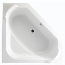 Baignoire d'angle CONCERTO 140x140cm blanc Acrylique P015501