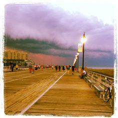 Ocean City Broadwalk NJ ~  June 2012