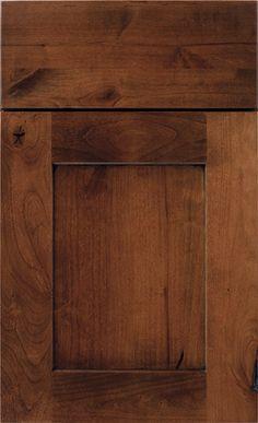 Rustic Kitchen Cabinet Door Styles Diamond Cabinets Sumner Auburn on Rustic Alder