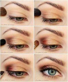 Workday eye makeup
