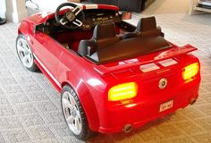 Modified Power Wheels - Mustang 18V
