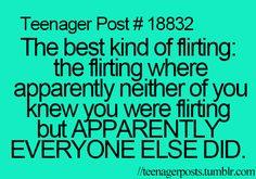 Yeah and when ur done talking people r like do u like him? I'm like what? Their like I rly saw something between u 2