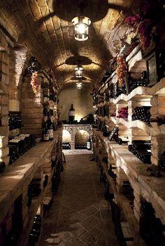 Cave de Vinhos – Secret Wine Cellar at Vila Vita Parc - Versteckte Räume Wine Cellar Design, Wine Design, Tonneau Bar, Caves, Wine Cellar Basement, Home Wine Cellars, Root Cellar, Wine Collection, Vintage Wine