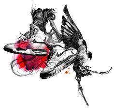 Gabriel Moreno's Illustrations.