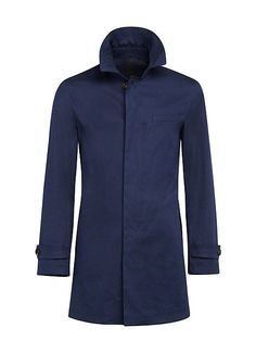 Navy Raincoat J431i | Suitsupply Online Store