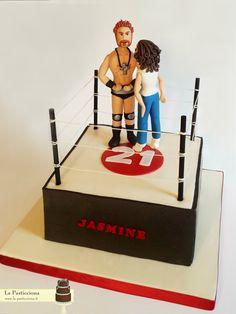 torta con Sheamus per una appassionata di wrestling www.la-pasticciona.it