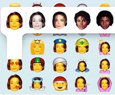 Michael Jackson Emoji Multicolor Select