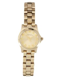 Marc By Marc Jacobs Mini Henry Gold Watch