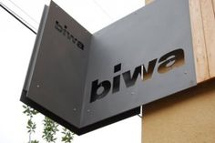 great signage | Biwa