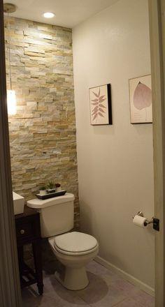 Small half bath remodels half bath renovation in bathroom makeover half bathroom remodel half bath remodel . Half Bathroom Decor, Bathroom Interior Design, Bathroom Ideas, Bathroom Organization, Bathroom Mirrors, Bath Ideas, Bathroom Designs, Bathroom Cabinets, Bathroom Wallpaper