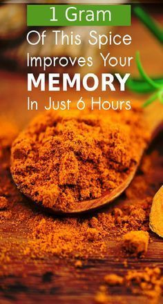 You won't believe but adding just a pinch of this spice in your breakfast daily can improve your Working MEMORY in just 6 hours. It is proved!