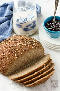 Gluten-free, vegan homemade bread. This recipe makes a mean sandwich too