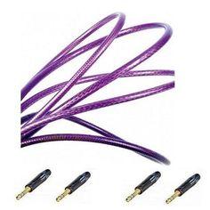 van den Hul The MC Silver IT Mk2, Symmetrische JACK 6.3 kabel,  80 cm