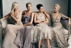 neutral bridesmaid dress - Google Search