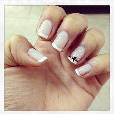 frenchnails manicure uñas de colores nails colors