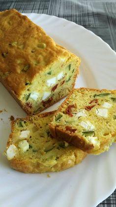 Cake courgettes - tomates - feta sans gluten - Nature et Partage